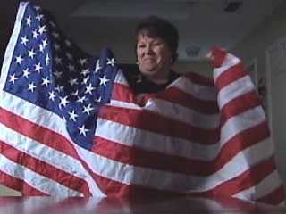 Texas Woman Told to Remove 'Offensive' American Flag From Office