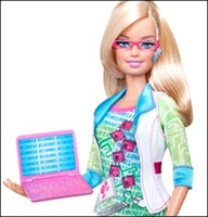 Barbie Gets a New Geek Look?