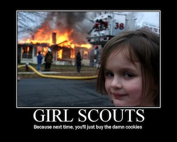 It is Girl Scout Cookie Season!