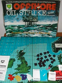 BP Offshore Oil Strike Game from 1970