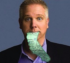 Glenn Beck Going Blind or Just Another Stunt?