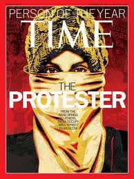 "Time Names ""The Protester"" as Person of the Year"