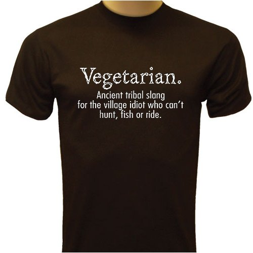 Vegetarian: Tribal Slang For Bad Hunter