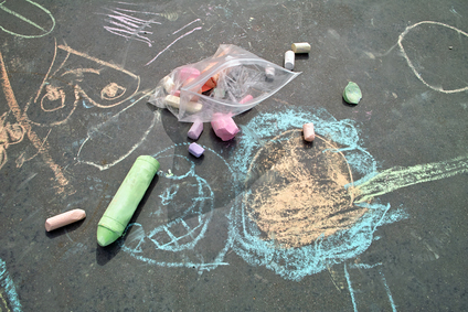 Sidewalk Chalk Drawings Banned In Colorado